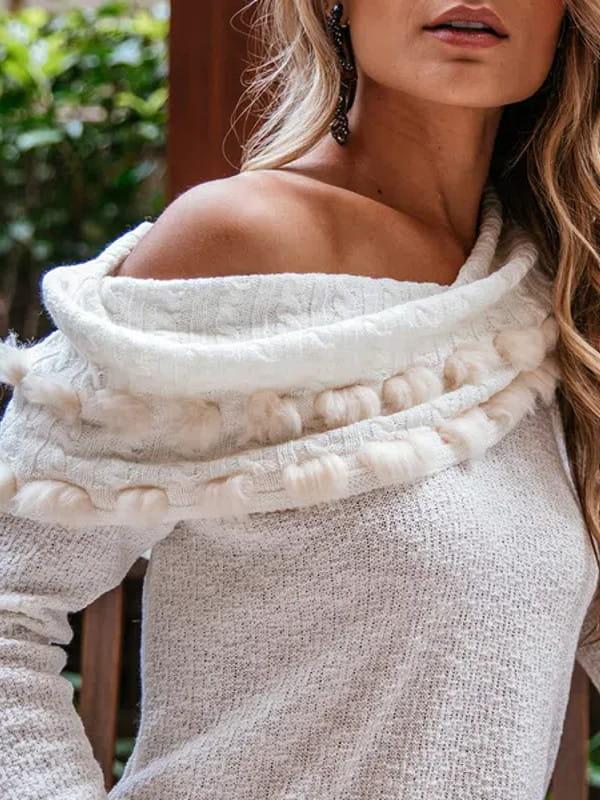 Dicas de roupas para disfarçar a barriguinha: modelo usando um blazer branco com saia branca.