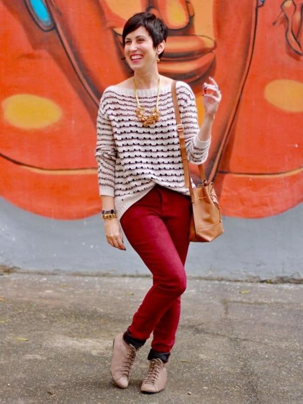 No inverno as pessoas ficam mais elegantes: look de Ana Soares.