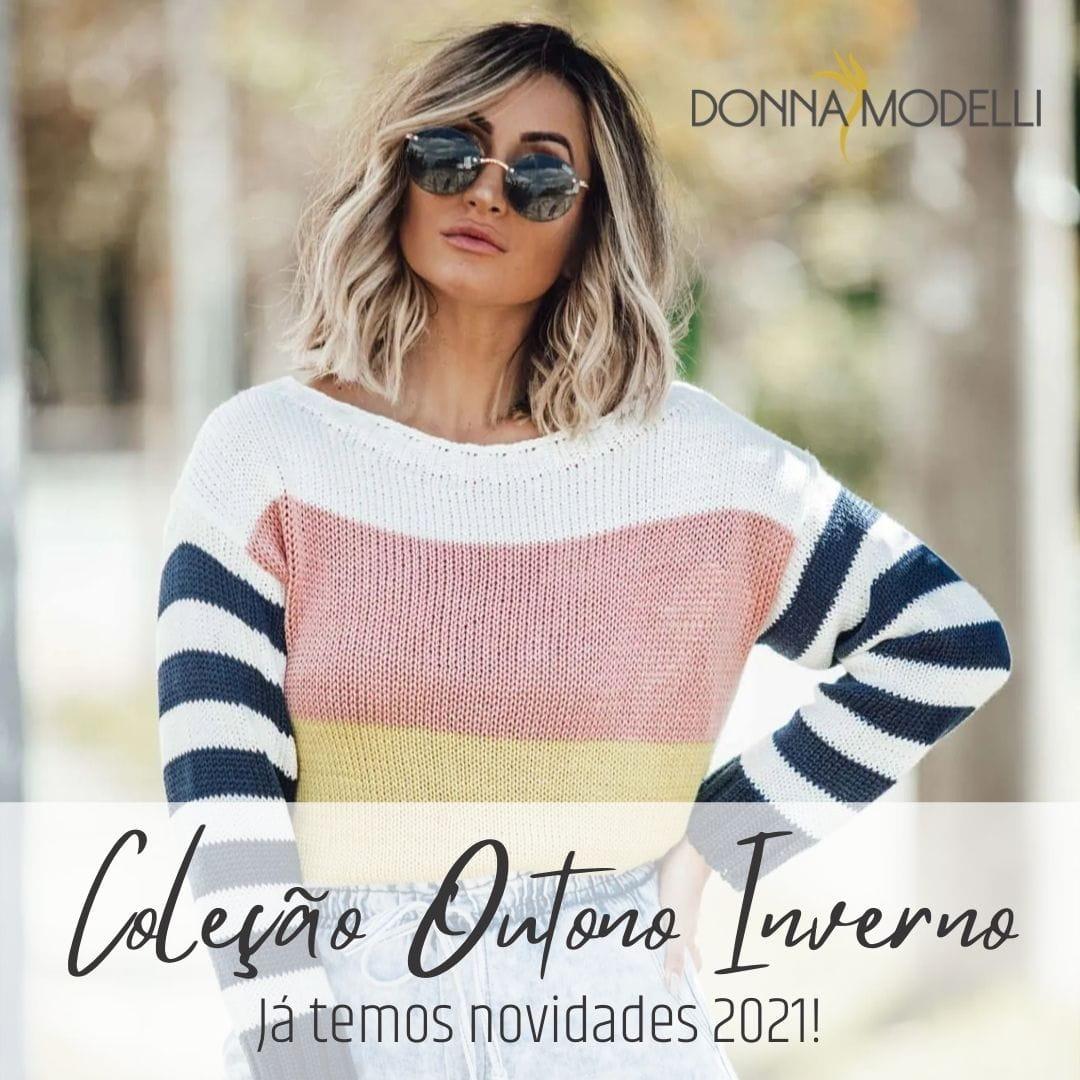 Coleção Outono Inverno 2021 da Donna Modelli