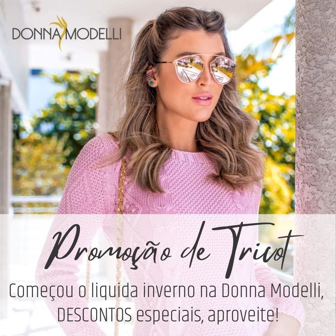 Promoção de Inverno 2021 da Donna Modelli
